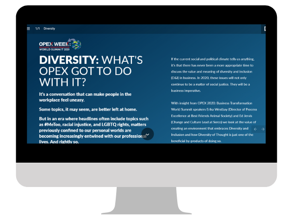 Diversity: What's OPEX got to do with it?