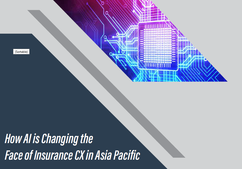 How AI is changing the face of insurance CX in APAC