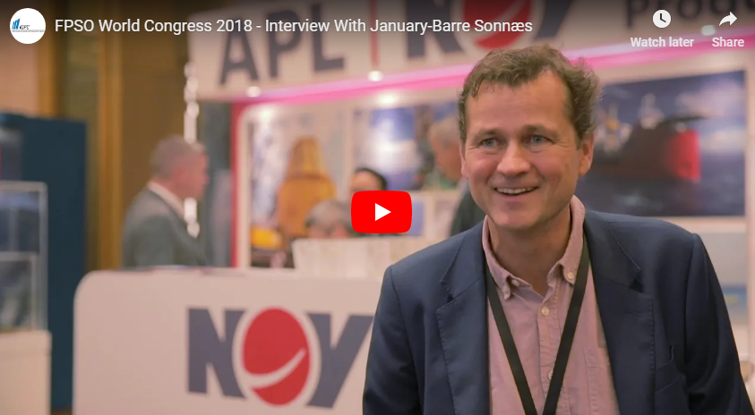 FPSO World Congress 2018 - Interview With January-Barre Sonnæs From NOV APL
