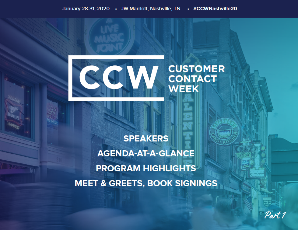 CCW Nashville 2020: Early Event Info Pt. 1