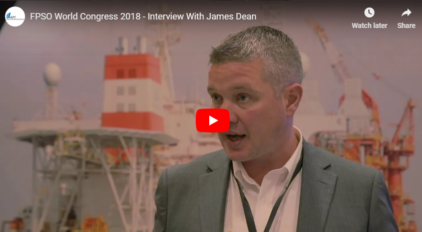 FPSO World Congress 2018 - Interview With James Dean From Contitech IFS