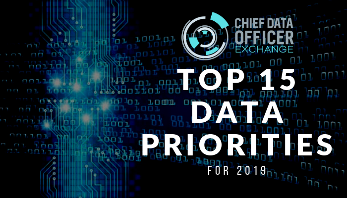 The Top 15 Data Investment Priorities in 2019