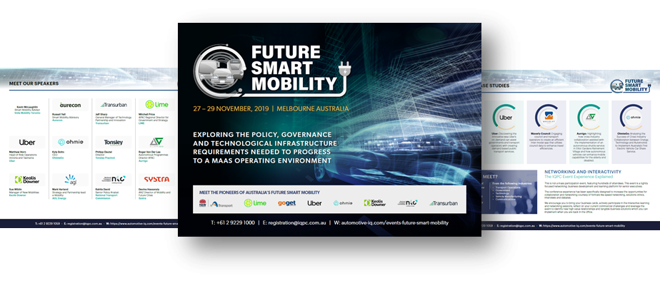 View Event Guide - Future Smart Mobility 2019