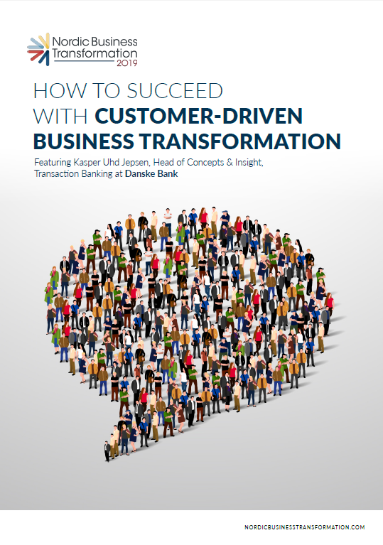 How to Succeed with Customer-Driven Business Transformation (Article)