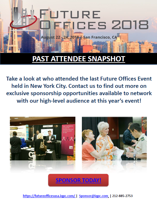Future Offices 2018 Past Attendee Snapshot