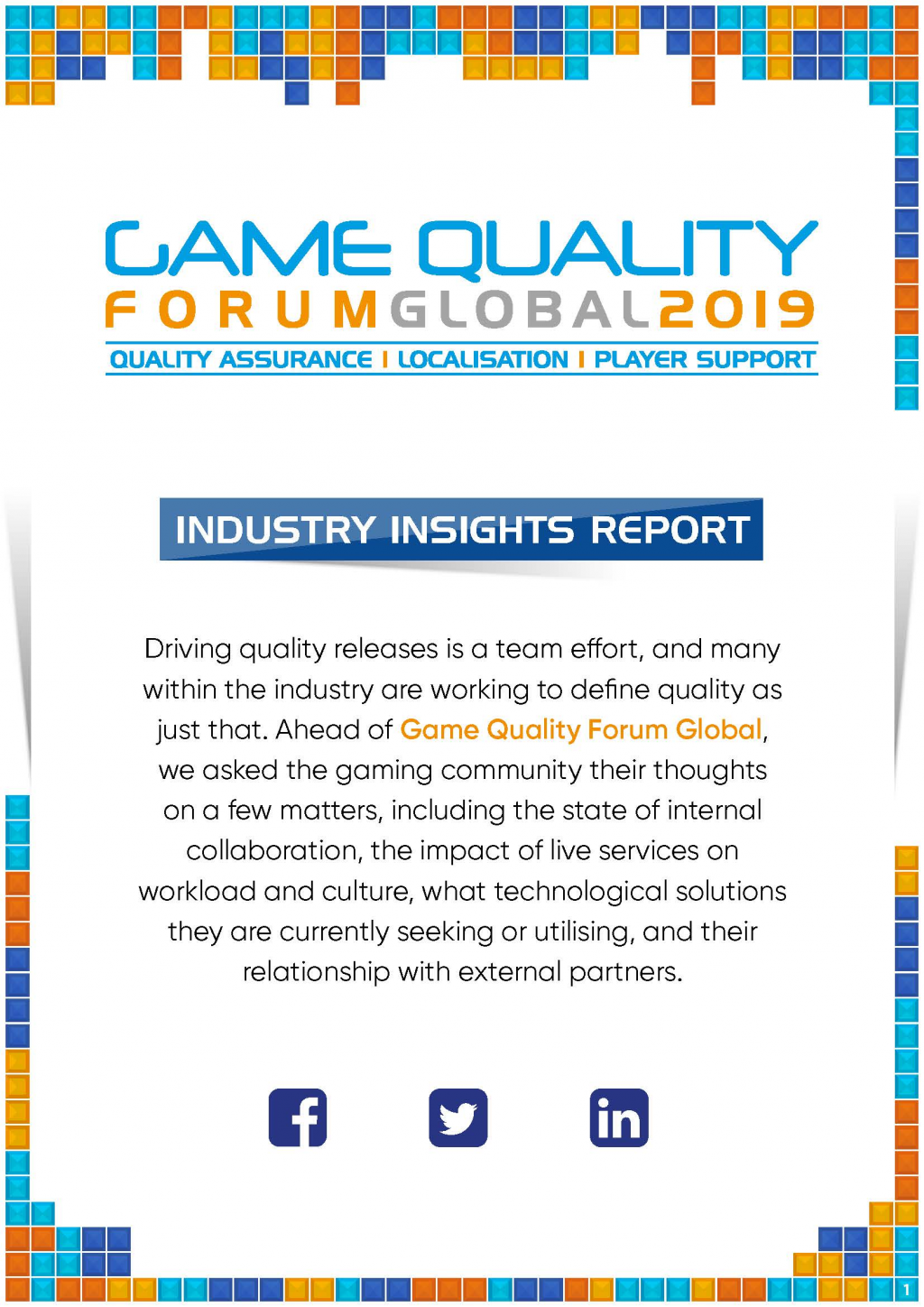 2019 Industry Insights Report