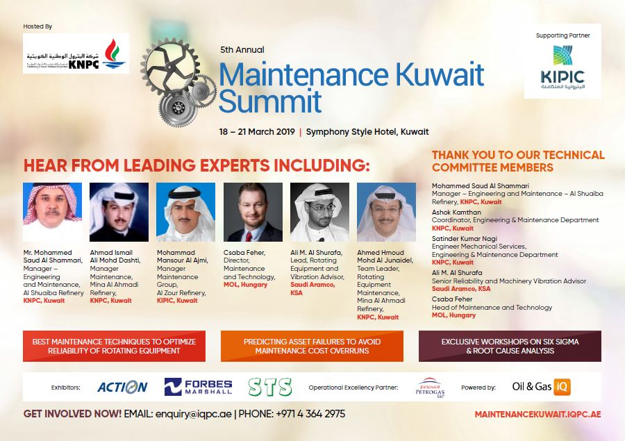 5th Annual Maintenance Kuwait Summit - Brochure