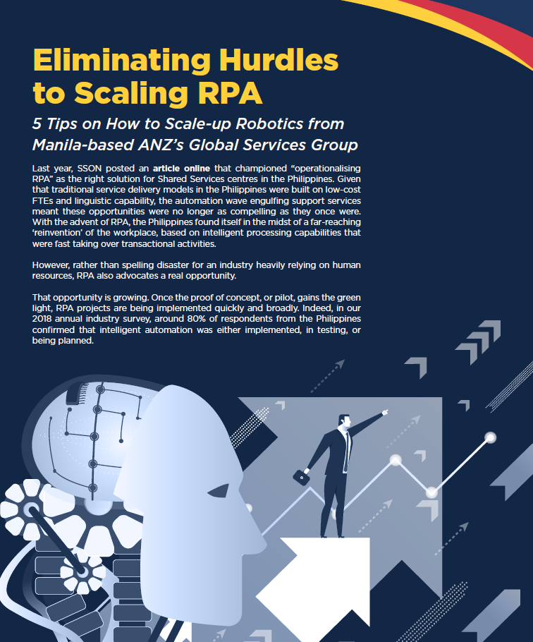 Eliminating Hurdles to Scaling RPA: A Case Study from ANZ's Global Services Group (Manila)