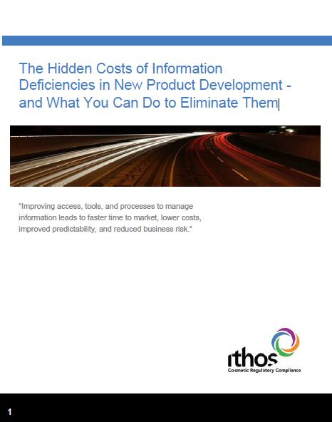 The Hidden Costs of Information Deficiencies in New Product Development - and What You Can Do to Eliminate Them