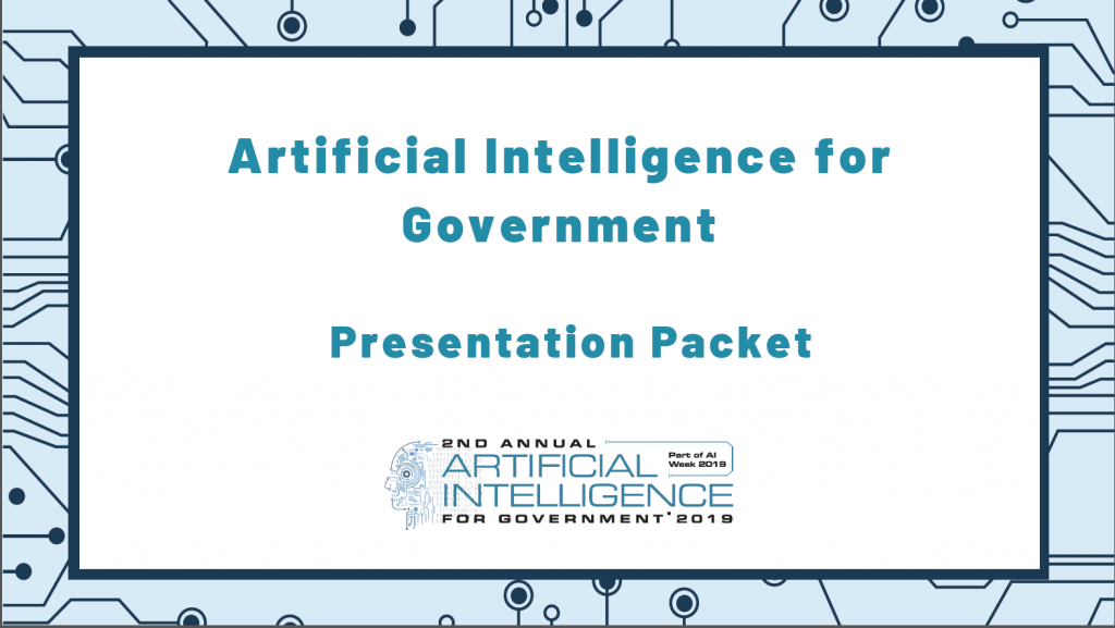 AI For Government Past Presentation Packet