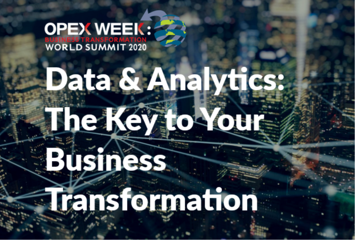 OPEX Orlando 2020 - spex - Data and Analytics: The Key to Your Business Transformation