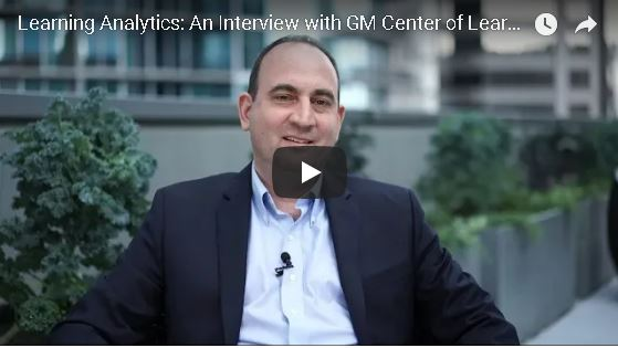 Learning Analytics: An Interview with GM Center of Learning Global Director Chris Bower
