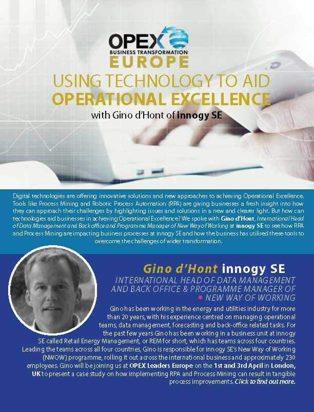 Using Technology to Aid Operational Excellence