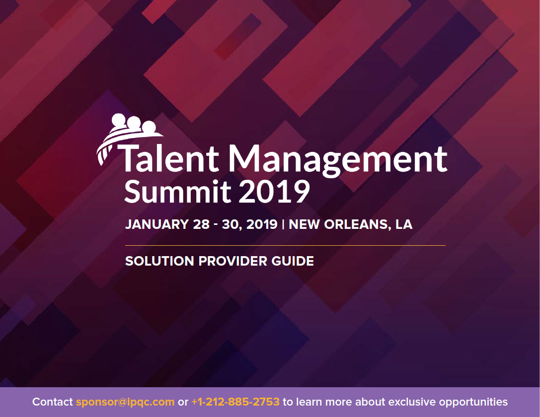Talent Management Solutions Providers Guide