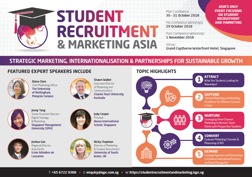 Student Recruitment and Marketing Asia 2018