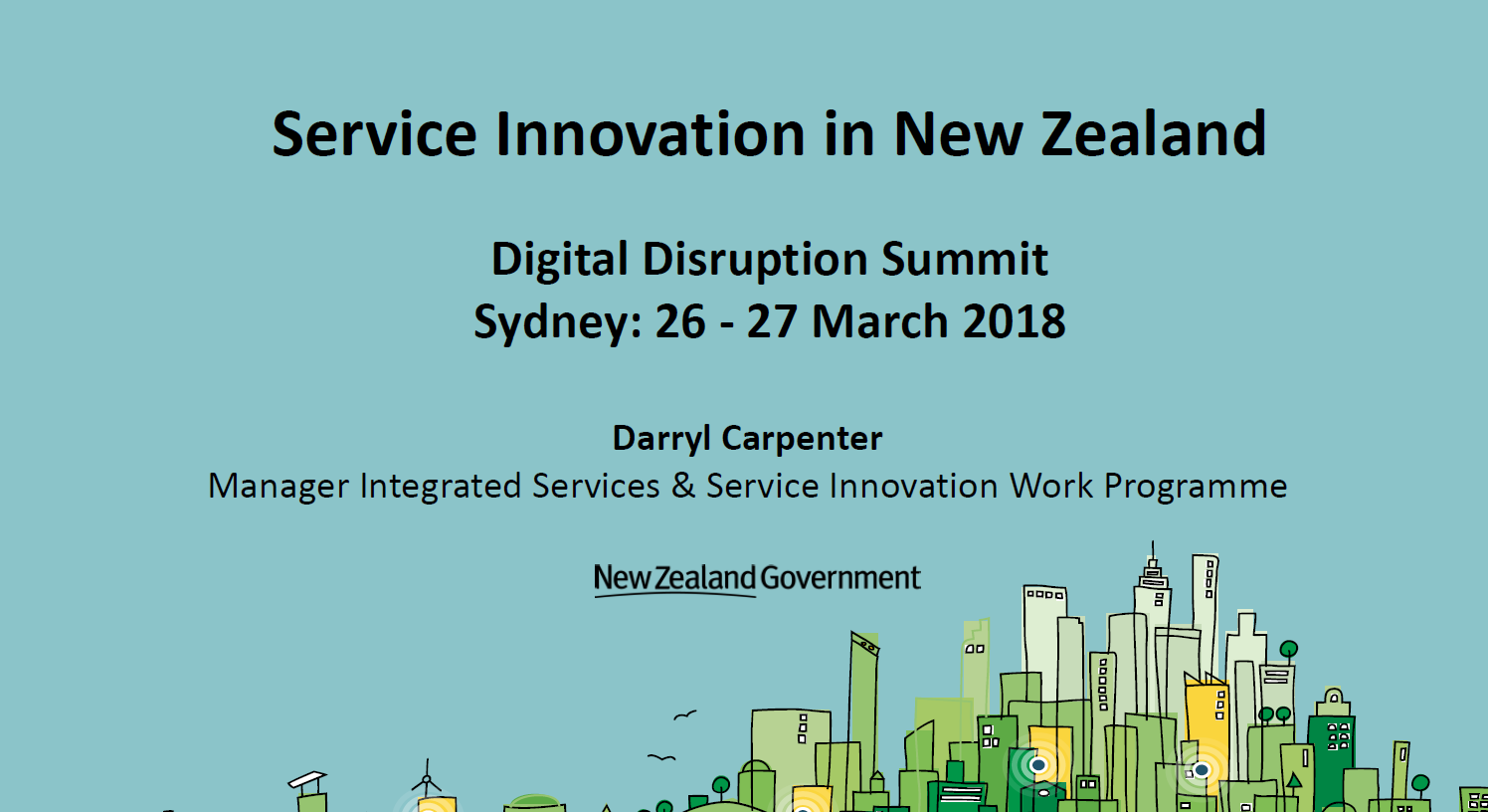 How the Department of Internal Affairs NZ is Incorporating a Service Design Focus  Strategy to Save 107M Per Annum and Invest in Innovation