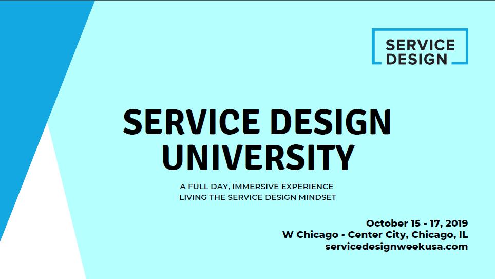 2019 Service Design University