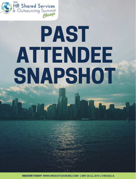 HR Share Services & Outsourcing Past Attendee Snapshot