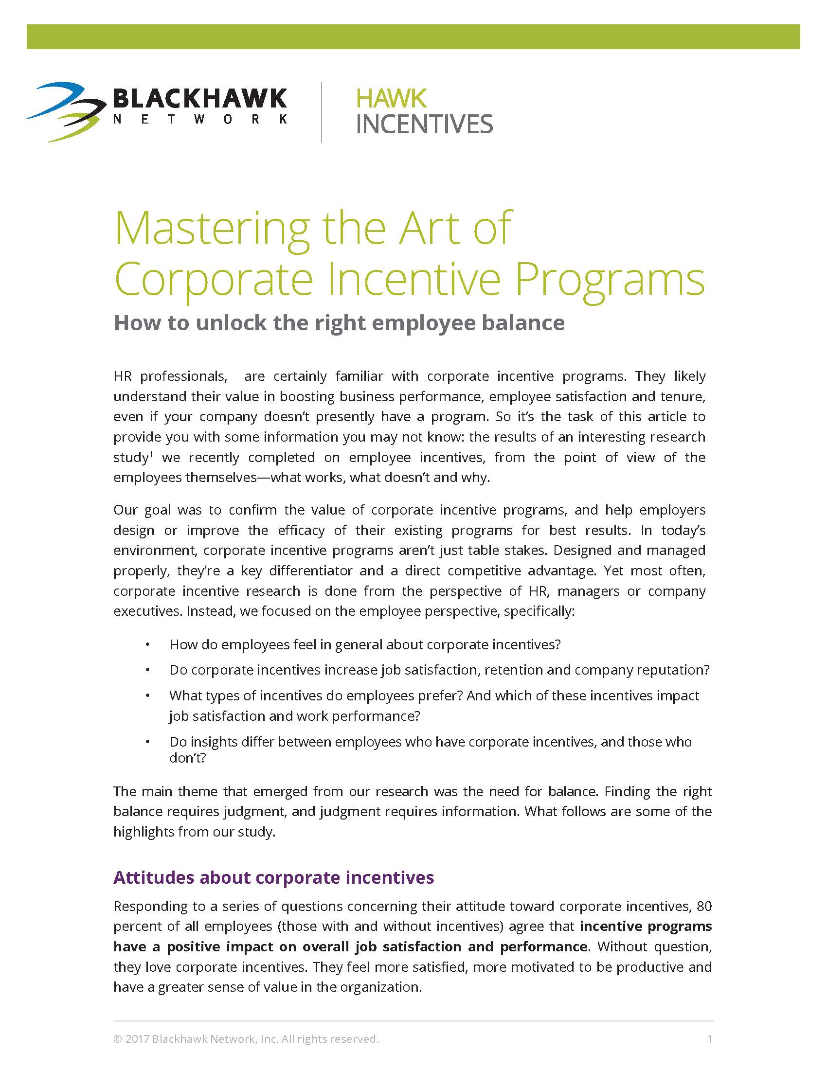 Mastering the Art of Corporate Incentive Programs