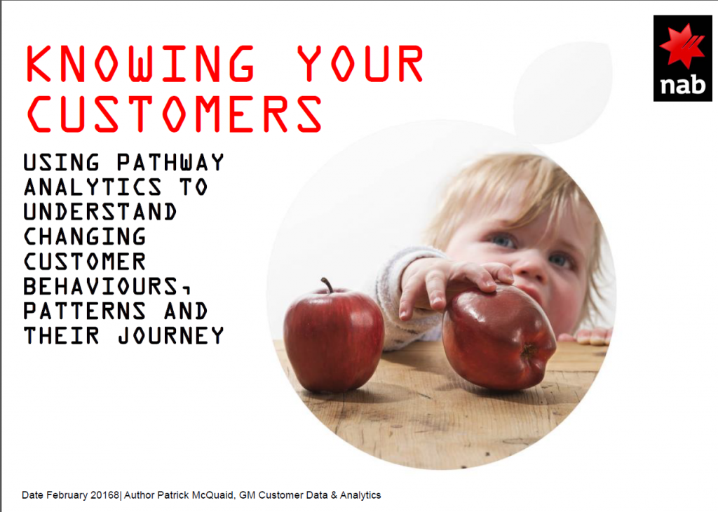 Using Pathway Analytics to Understand Changing Customer Behaviours, Patterns and Their Journey