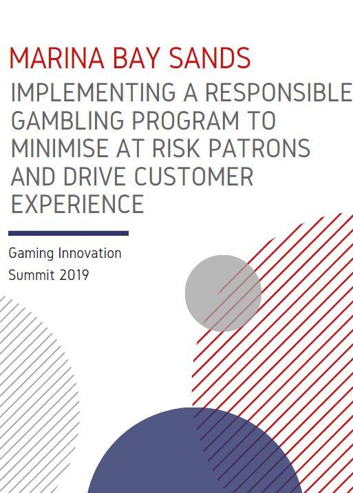 Implementing a Responsible Gambling Program to Minimise At Risk Patrons and Drive Customer Experience