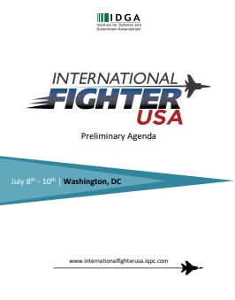 International Fighter USA 2020 Preliminary Agenda