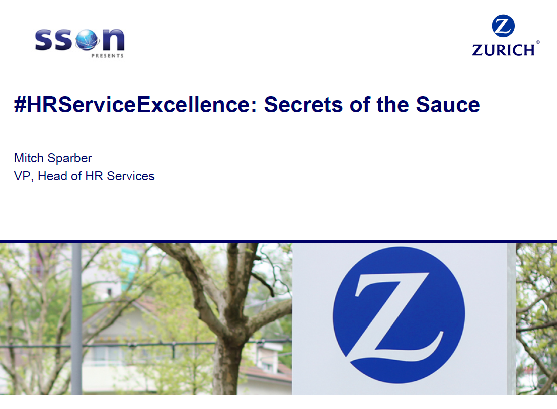 #HRServiceExcellence: Secrets of the Sauce