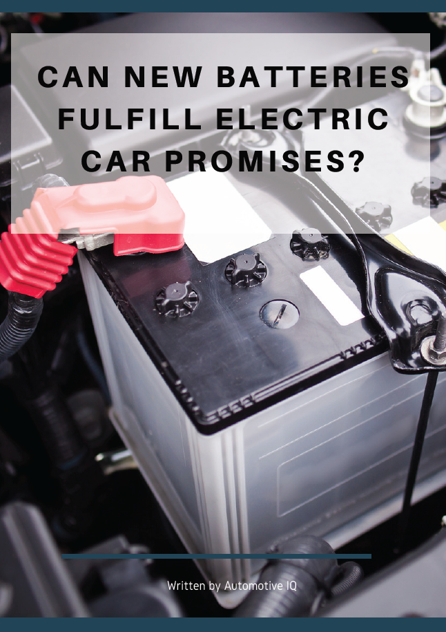 Report on can new batteries fulfill EV promises