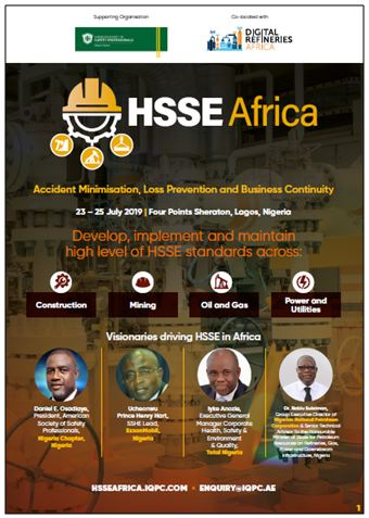 Brochure: Health Safety Security and Environment Africa