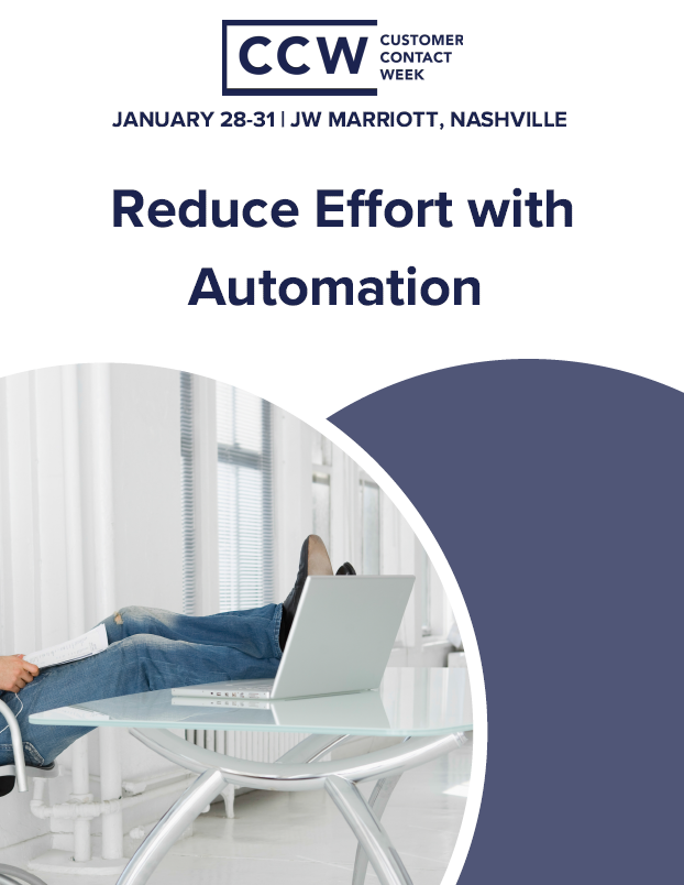 Reduce Effort with Automation