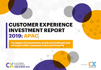 CX Investment Report 2019: APAC