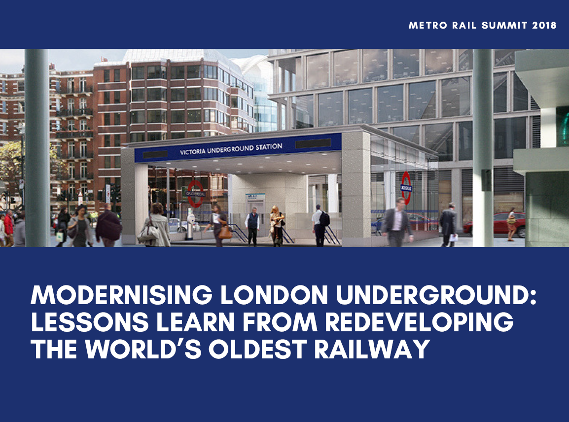 Modernising London Underground: Lessons learn from redeveloping the world's oldest station