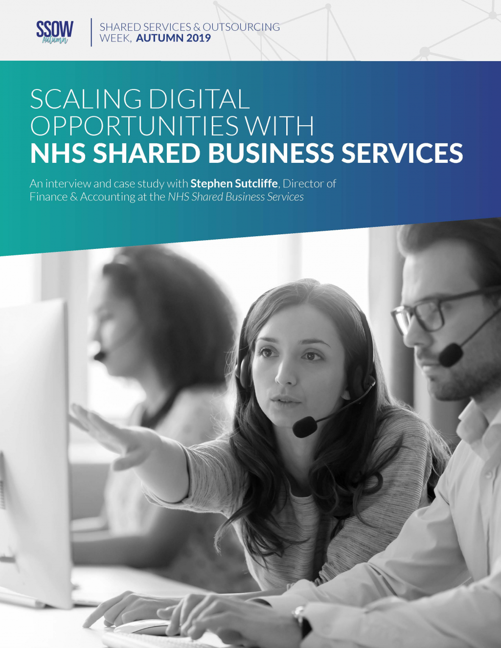 Scaling digital opportunities with NHS Shared Business Services
