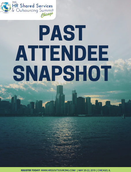 25th Annual HR Shared Services & Outsourcing Summit Past Attendee Snapshot