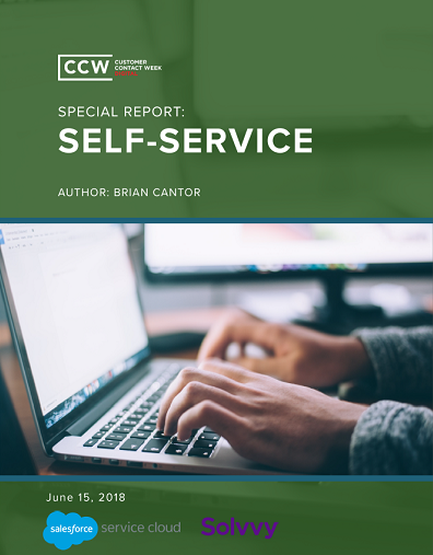CCW Digital Special Report - Self-Service