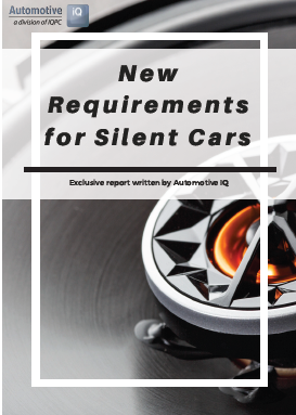 Report on New Requirements for Silent Cars
