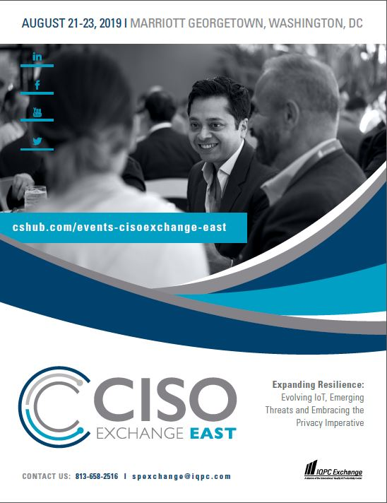 View the 12th CISO Exchange Agenda for Details on Speakers, Sessions, and More!