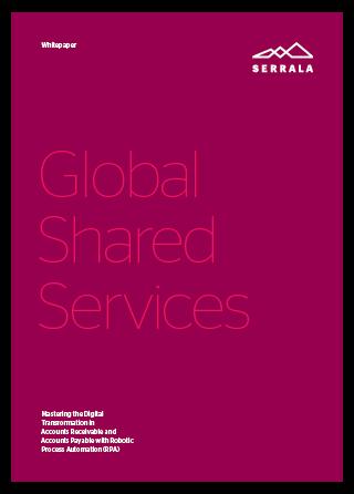 Whitepaper von Serrala zum Thema Global Shared Services