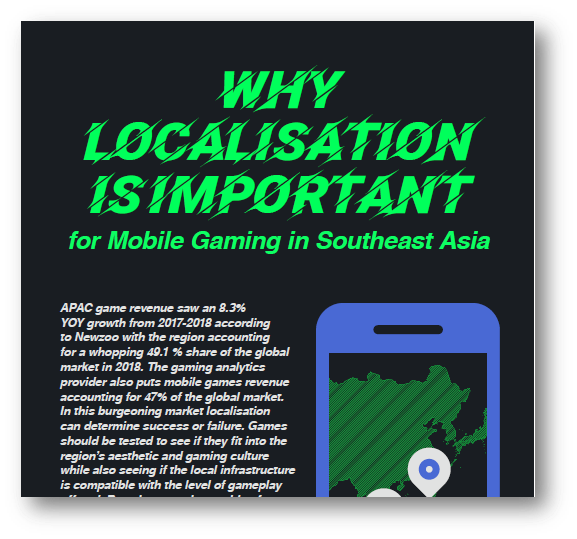 Why Localisation is important for Mobile Gaming in Southeast Asia