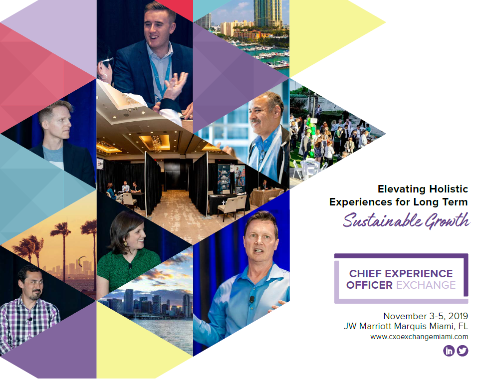 2019 Chief Experience Officer Event Guide