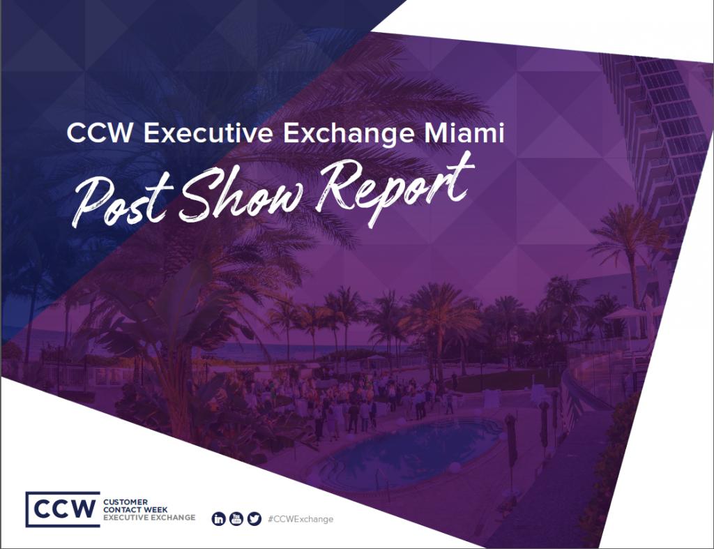 CCW Exchange Post Show Report
