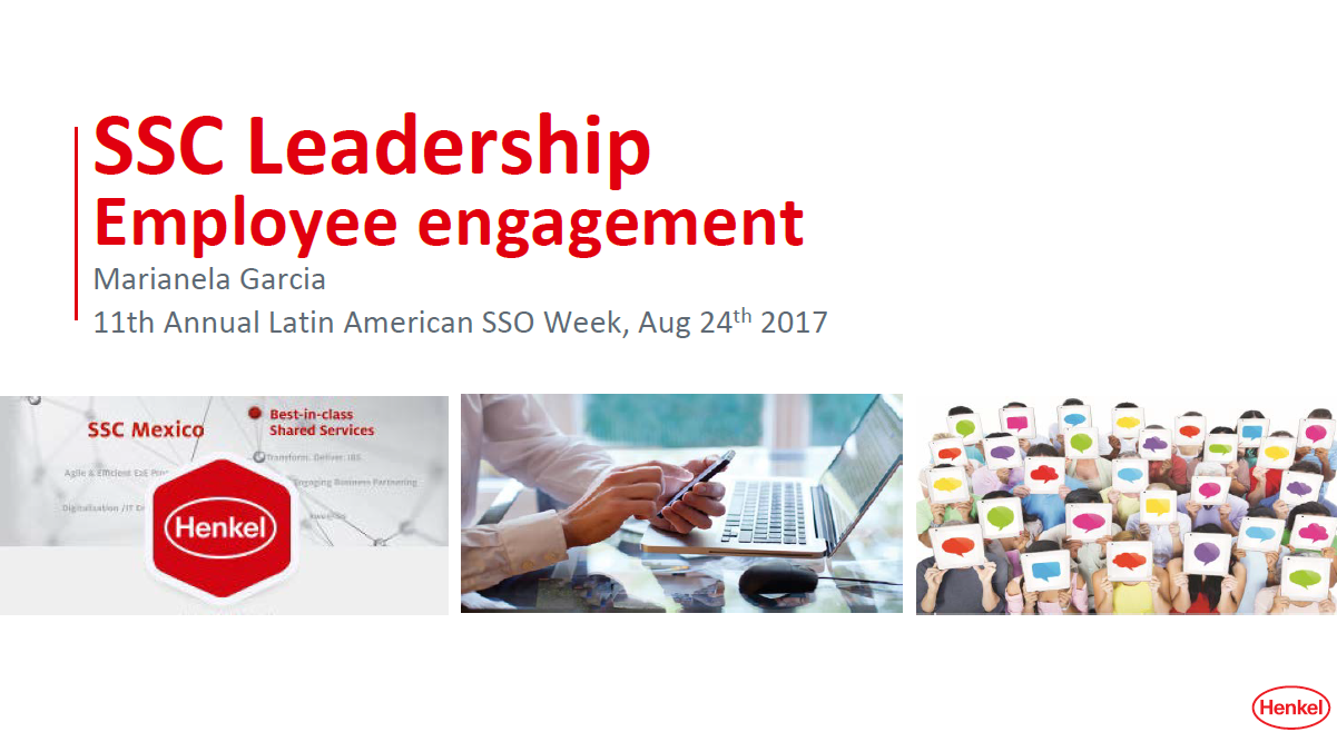 SSC Leadership & Employee Engagement