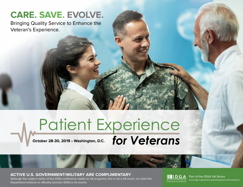 Patient Experience for Veterans Official Agenda