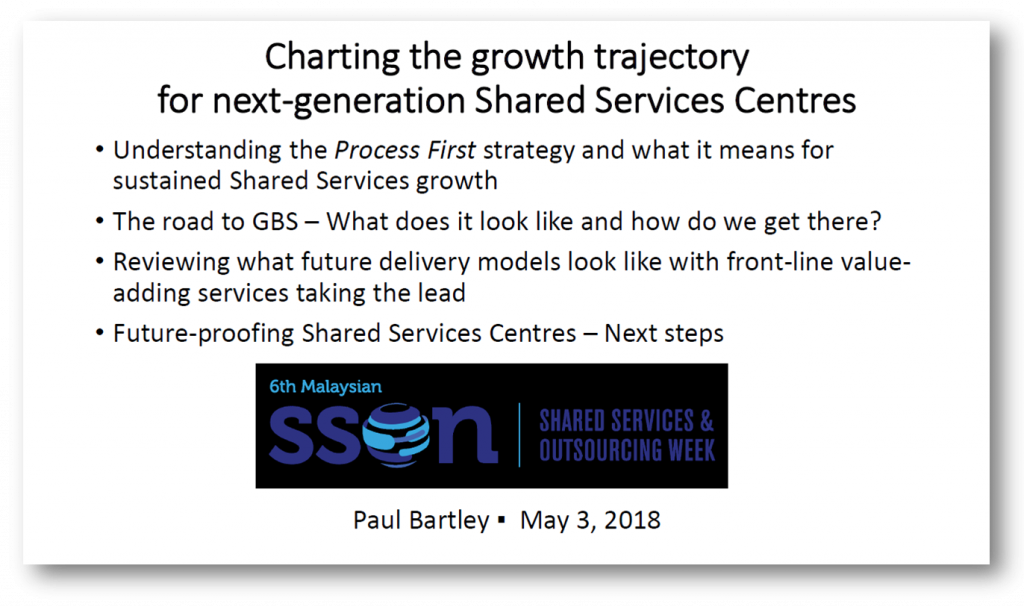Charting the growth trajectory for next generation Shared Services Centres