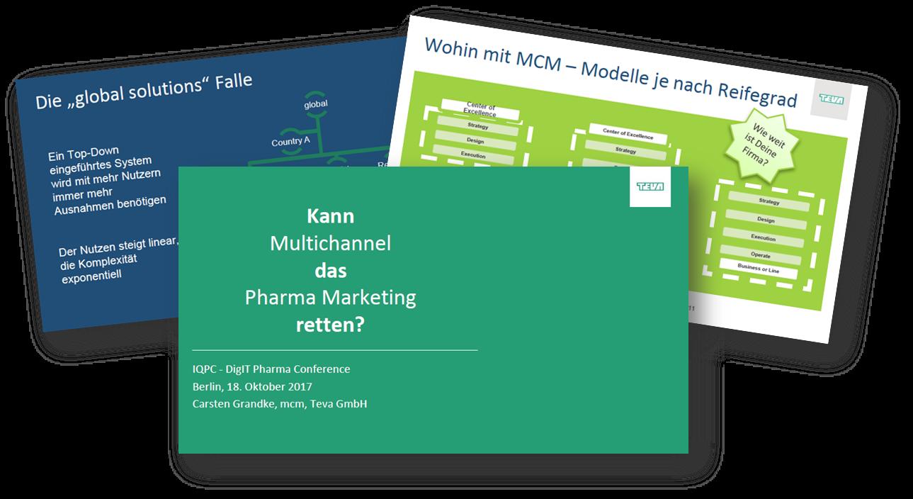 Kann Multichannel das Pharma Marketing retten?