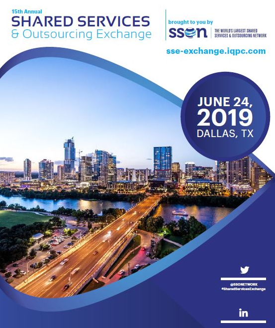2019 Shared Services & Outsourcing Exchange Agenda