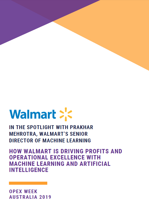How Walmart is Driving Profits and Operational Excellence with Machine Learning and Artificial Intelligence