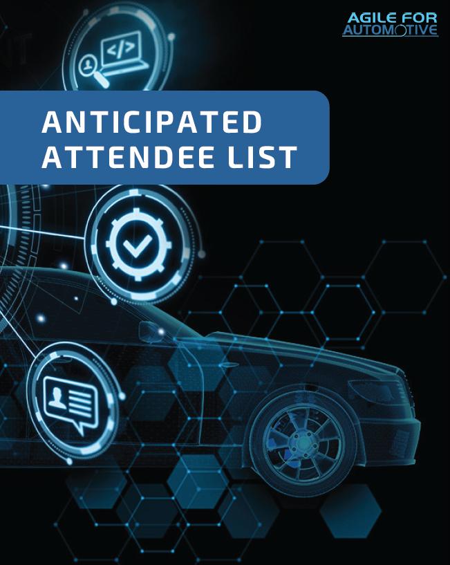 Anticipated Attendee List