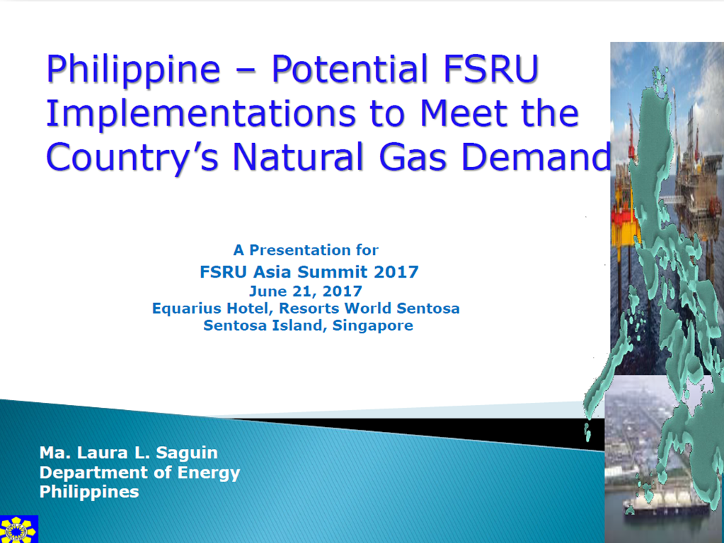 Philippine - Potential FSRU Implementations to meet the Country's Natural Gas Demand