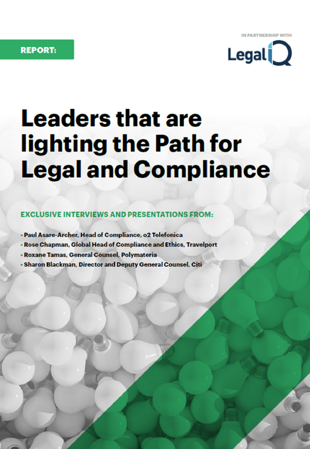 Leaders that are Lighting the Path for Legal and Compliance Report (SPEX)